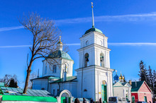 Church Of Forty Martyrs Of Sebaste. Pechory, Russia