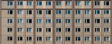 Building Facade, Plattenbau , Residential Building Exterior