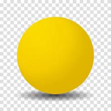 Yellow Sphere Ball