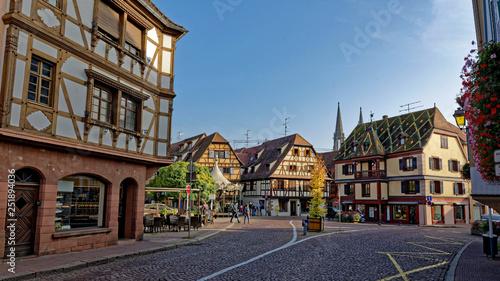 Fotografie, Obraz  Obernai, Bas-Rhin, Alsace, Grand Est, France