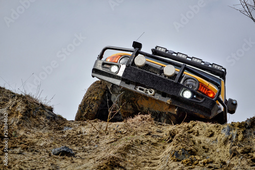 Fotografía Rally-raid, dirt and gravel road competitions, jeep races, off-road races on spe