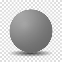 Gray Sphere Ball
