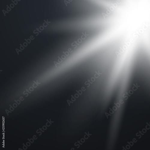 Spoed Foto op Canvas Licht, schaduw Sunlight a translucent special design