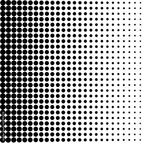 Vintage Dots Background Tablou Canvas
