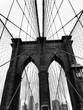 brooklyn bridge and new york city manhattan
