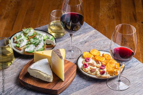 Fotografia, Obraz  Wine and food pairing
