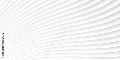 Fotografia  grey white waves and lines pattern