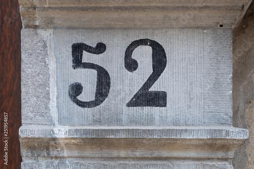 Cuadros en Lienzo House Number 52