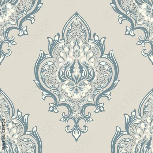 Fotografija  Vector damask seamless pattern element