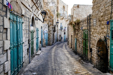 Street In Old City Of BETHLEHE...