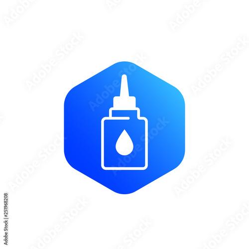 Fotografía  lubricant, oil for bike, lube vector