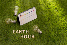 Letter Happy Earth Day Concept...
