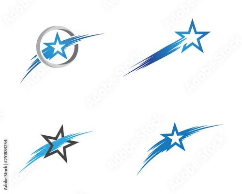 Obraz Star icon Template - fototapety do salonu