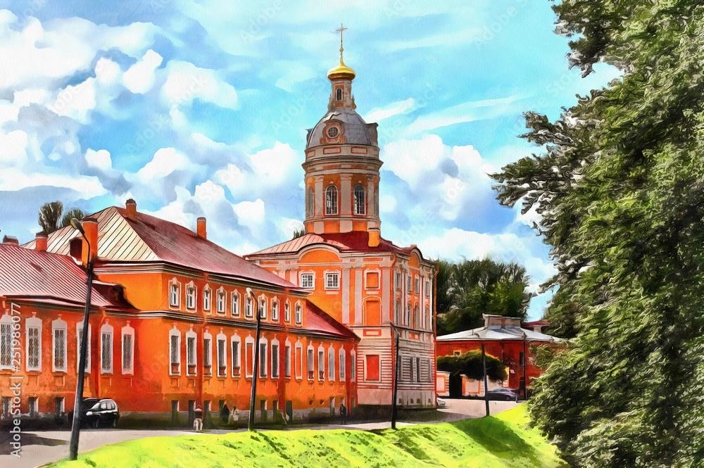Theodore Church of the Alexander Nevsky Monastery
