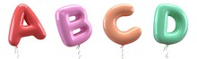 Brilliant Balloons Font. Alpha...
