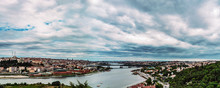 Panorama Of Istanbul, View From Eyup-Pierre Loti Point, Turkey