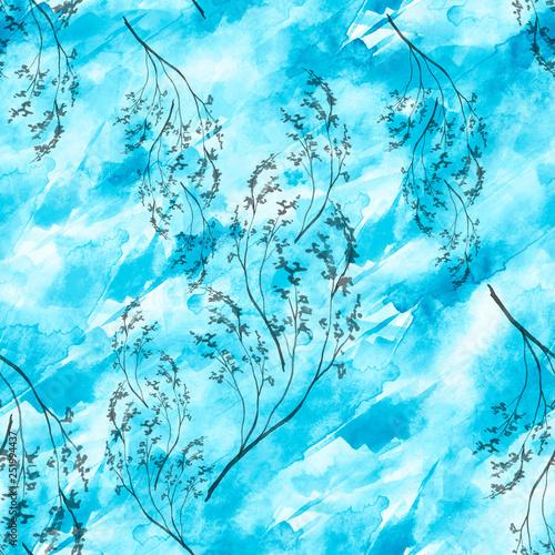 akwarela-handdrawn-tlo-bezszwowy-wzor-z-kwiatami-rysunek-galaz-mimozy-dziki-kwiat-suszony-kwiat-polne-kwiaty-dzika-trawa-pioro