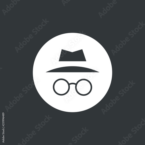Cuadros en Lienzo  Incognito icon vector illustration