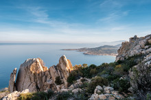Coast Of Corsica Viewed From R...