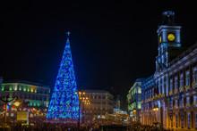 Puerta Del Sol Clock Tower And...