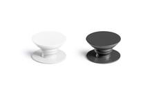 Blank Black And White Phone Po...