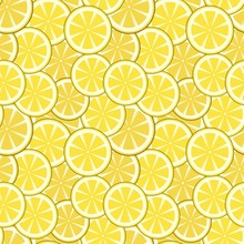 Citrus Full Seamless Pattern
