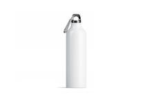 Blank White Metal Sport Bottle...