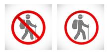 Tourist Stop Sign Icon