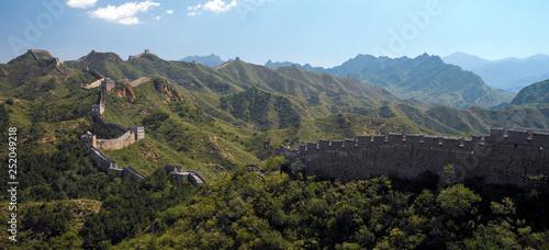 Fotografie, Obraz Great Wall of China - Jinshanling - China