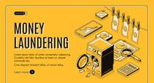 Money Laundering Web Banner, L...