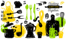 Culinary School Logo Design La...