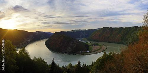 Riviere danube valley, schlögener schlinge, upper austria