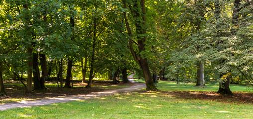 Park Decjusza, Cracow, Poland