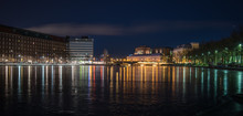 Scenic View Of A Helsinki At N...