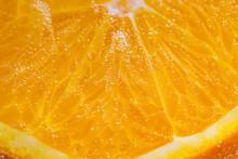 Orange Fruit Close-up Macro