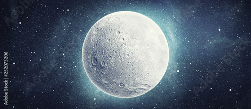 Canvas Print moon