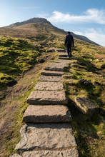 Ingleborough Is The Second-highest Mountain In The Yorkshire Dales.[1] It Is One Of The Yorkshire Three Peaks (the Other Two Being Whernside And Pen-y-ghent).