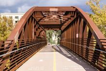 Bridge On Guadalupe River Trail, Santa Clara, California