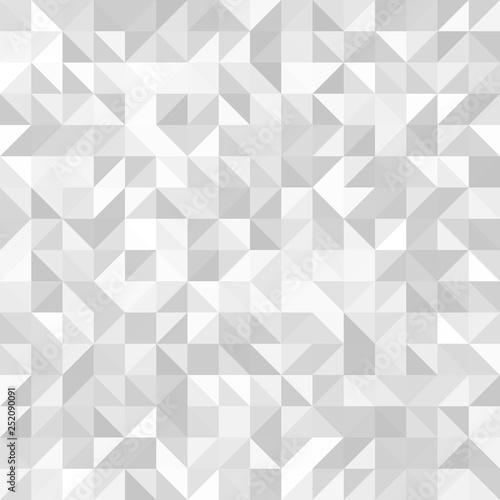 obraz PCV Light seamless geometric background. Abstract vector pattern.