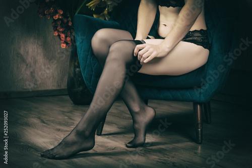 Valokuva  Beautiful female legs