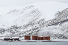 Rusted Storage Tanks In Whalers Bay