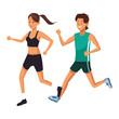 couple athletes avatar