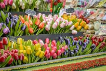 Flower Shop In Bloemenmarkt, A...