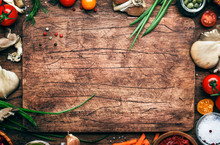 Food Cooking Background, Ingre...