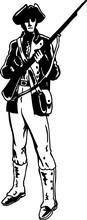 Minuteman Vector Illustration
