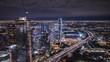 Wilshire LA Live Rooftop Sunset Timelapse 166 pics 5 second h264-420 4K 30 UH