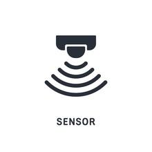Touch Signal, Sensor Control. Vector Icon.