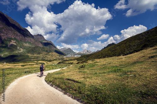 Lago Ritom, Valle di Piora, Quinto (Svizzera) - Alpi Lepontine Canvas Print