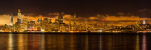 Panorama Skyline San Francisco...