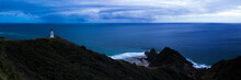 Cape Reinga Lighthouse (Te Rerenga Wairua Lighthouse), Aupouri Peninsula, Northland, North Island, New Zealand
